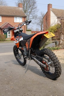 exc 530 exc 2008 Stolen in edith weston