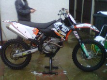 KTM SFX 2008 Stolen in SEALAND ROAD CHESTER