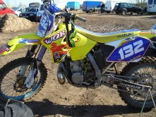 Suzuki RM250 2006 Stolen in HOME GARAGE