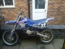 yamaha yz85 2001 Stolen in Newcastle-under-lyme