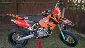 KTM 525 EXC Racing 2005 Stolen in Rendlesham Woodbridge Suffolk