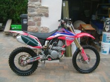 Honda crf150 2009 Stolen in portishead