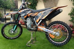 KTM SXF450 2008 Stolen in Latchford, Warrington