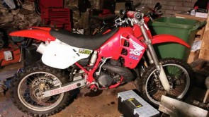 HONDA CR250 1989 Stolen in CARTMEL