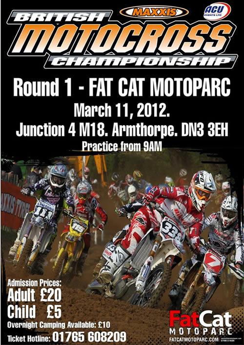 Fatcat Motoparc, Round 1, British Championship 2012