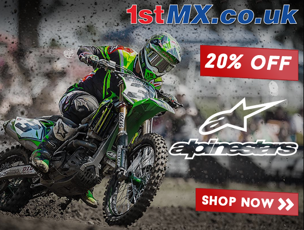 1st MX Alpinestars 20% Discount