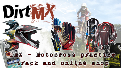 Dirt MX Practice Track and Online Shop