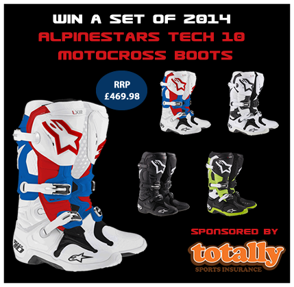 Alpinestars Competition, enter now!