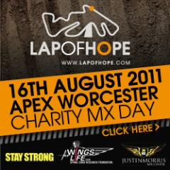 Lap of hope - Apex - 16th August