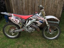 Honda  CR 125 2005 Stolen in Chirk